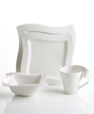 Villeroy & Boch Dinnerware, New Wave 4 Piece Place Setting