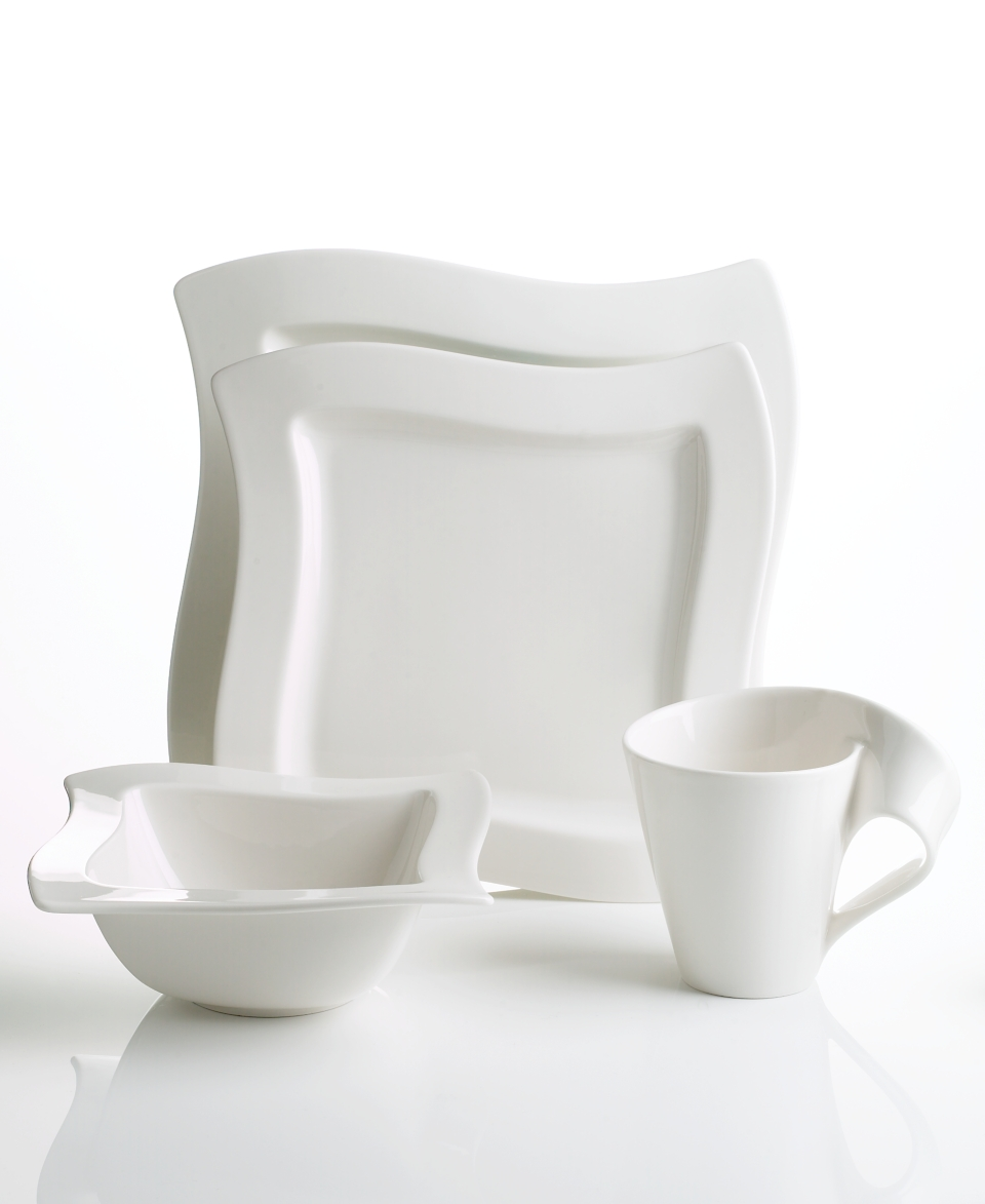 villeroy boch dinnerware new wave 4 piece place setting casual dinnerware dining. Black Bedroom Furniture Sets. Home Design Ideas