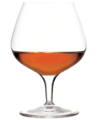 Luigi Bormioli Glassware, Michelangelo Brandy Snifter, Set of 4
