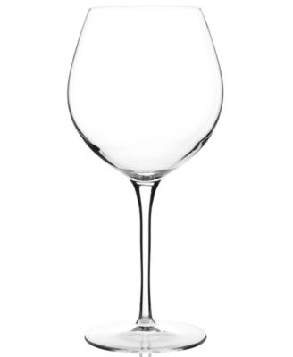 Luigi Bormioli Glassware, Crescendo Chip-Resistant All-Purpose Wine Glasses, Set of 4