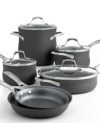 Calphalon Unison Nonstick Cookware, 10 Piece Set