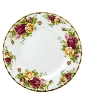 "Royal Albert ""Old Country Roses"" Bread & Butter Plate, 6 1/4"""