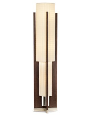 Pacific Coast Espresso Wood Double Uplight Floor Lamp   Floor Lamps  Lighting U0026 Lamps   For