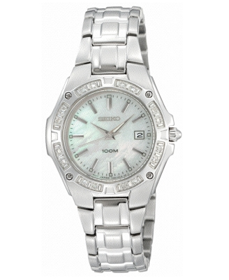 Seiko Watch, Women's Stainless Steel Bracelet SXDB51