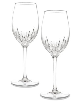 Waterford Stemware, Lismore Essence White Wine Glasses, Set of 2