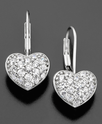 CRISLU Sterling Silver Cubic Zirconia Earrings (3/4 ct. t.w.)