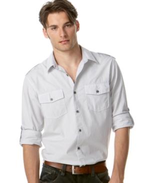 American Rag Shirt, Vaduz Pinstripe