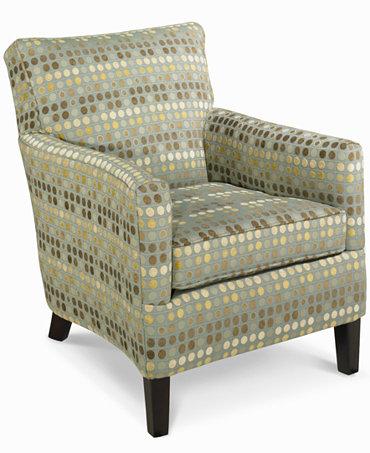 Seafoam Living Room Chair Accent Furniture Macy 39 S