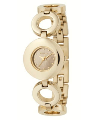 DKNY Watch, Women's Goldtone Ion-Plated Stainless Steel Bracelet NY4647