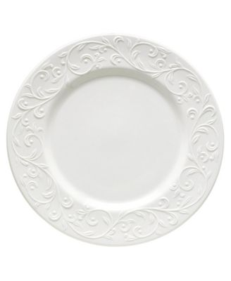 Lenox Dinnerware, Opal Innocence Carved Dinner Plate