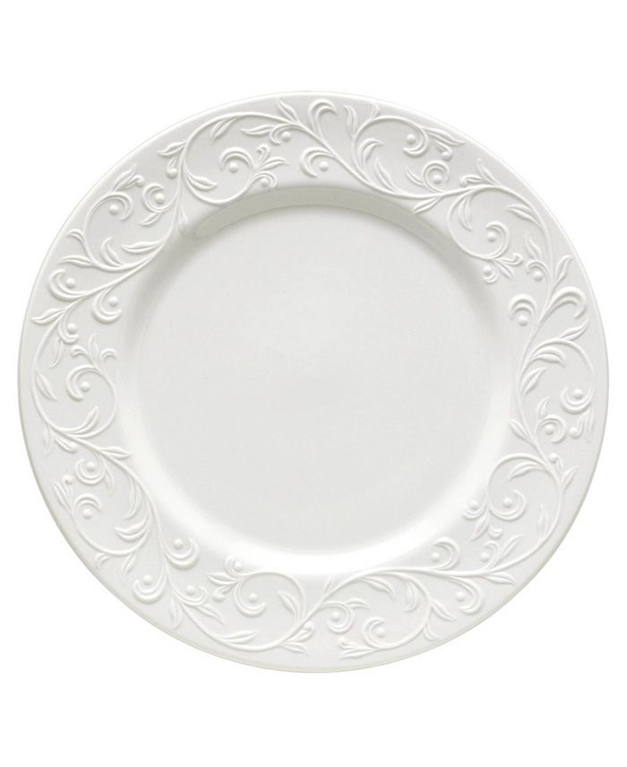 "Lenox - ""Opal Innocence Carved"" Dinner Plate"