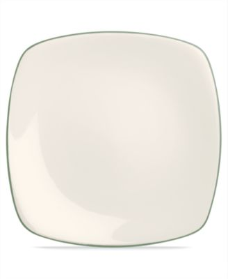 Noritake Dinnerware, Colorwave Green Square Dinner Plate