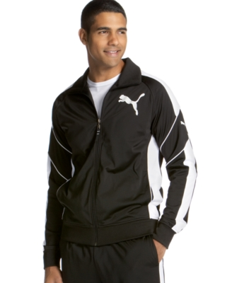 Puma Jacket, Tricot - Sporty Men's Track Jackets