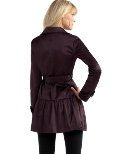 BCX Coat, Skirted Bottom Trench