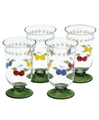 Villeroy & Boch Glassware, Set of 4 French Garden Cheer Iced Tea Glasses
