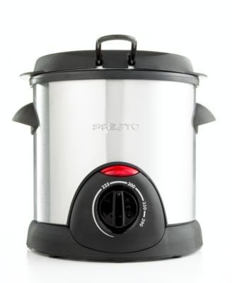 Presto 05471 Deep Fryer, 1L Stainless...