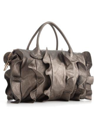 Steve Madden Handbag, Ruffle Satchel