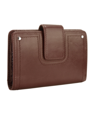 Fossil Wallet, Candy Leather Multifunction