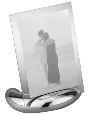 """Nambe Elbow 4"""" x 6"""" Picture Frame"""
