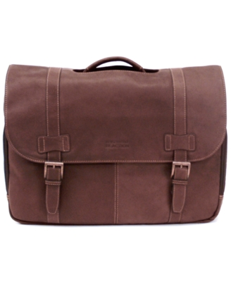 Kenneth Cole Reaction Messenger Bag, Columbia Leather Flapover Portfolio