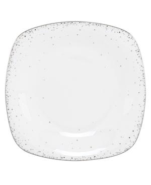 Lenox Lifestyle Dinnerware, Silver Mist Square Accent Plate