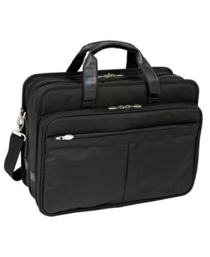 McKlein Laptop Bag, Walton Expandable Double Compartment Laptop Friendly