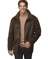 Macy's - Weatherproof Men Faux Sherpa Jacket - $69.99