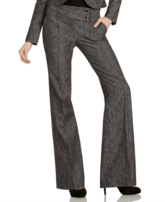 BCX Pants, Boot Cut Suiting Trousers