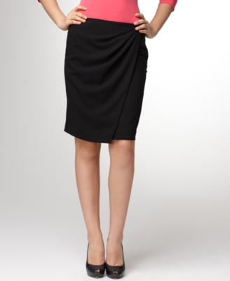 Alfani Skirt, Draped Pencil