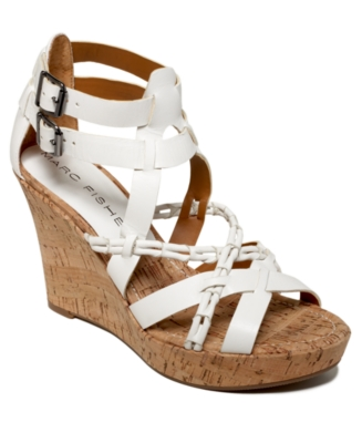 Marc Fisher Shoes, Casare Wedge Sandals Women's Shoes