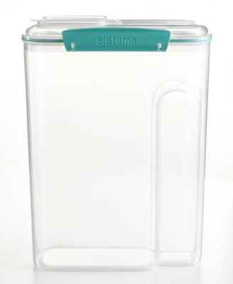 Martha Stewart Collection Storage Container, 4.5 Qt. Cereal