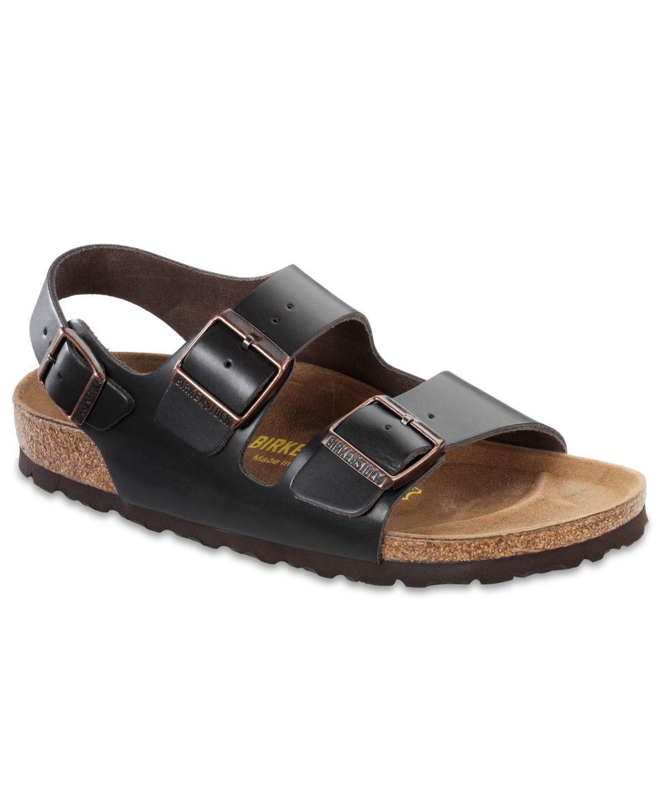 6a3a3ae75ac3 Birkenstock Milano Birkibuc Back Strap Sandals Shoes Men on PopScreen