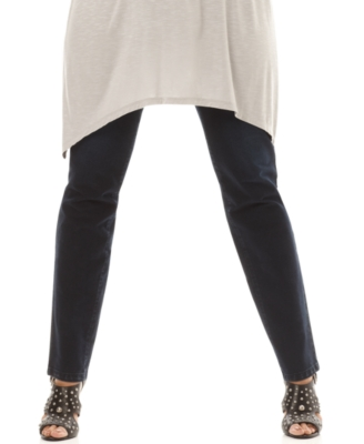 INC International Concepts Plus Size Leggings, Denim Look Jeggings