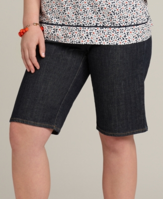 Tommy Hilfiger Plus Size Shorts, Hope Denim Bermuda