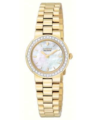 Citizen Watch, Women's Goldtone Stainless Steel Bracelet EW9822-59D
