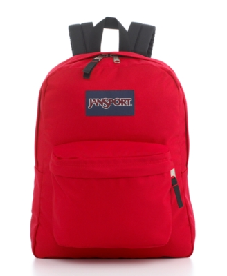 Jansport Backpack, SuperBreak Red