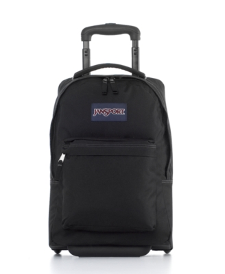 Jansport Backpack, Wheeled SuperBreak Black