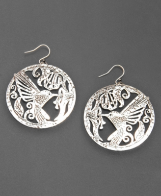 Lucky Brand Earrings, Hummingbird