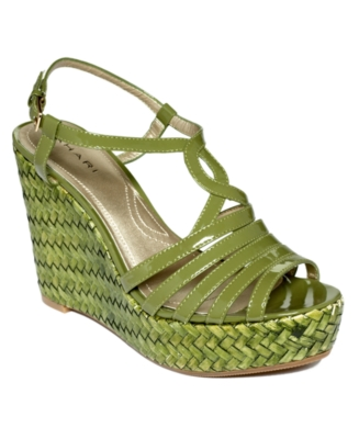 Tahari Shoes, Turner Wedge Sandals Women's Shoes