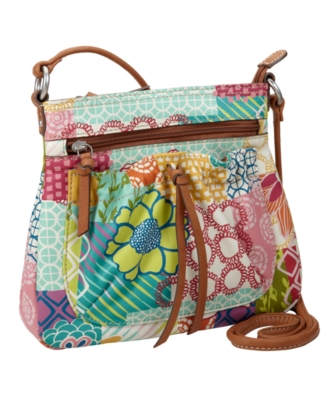 Fossil Handbag, Hathaway Mini Bag - Printed Shoulder Bag