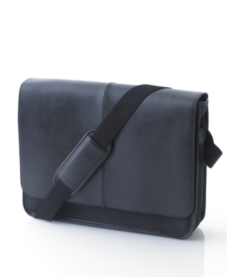 Perry Ellis Bag, Flap Messenger Bag