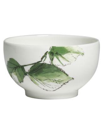 Vera Wang Wedgwood Dinnerware, Floral Leaf Sugar Bowl