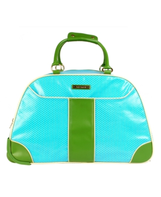 Double Dutch Rolling Duffel, Green Dot