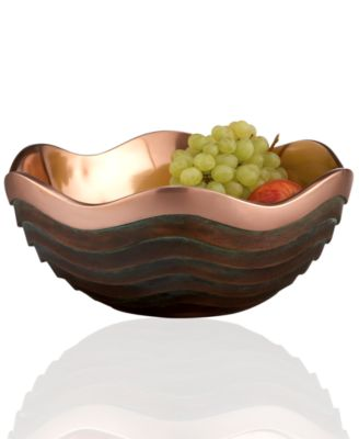 Nambe Metal Bowl, Copper Canyon Large