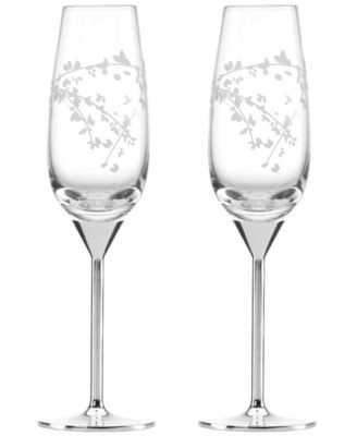 kate spade new york Set of 2 Gardner Street Toasting Flutes