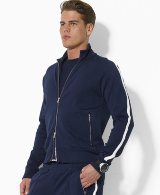 RLC Ralph Lauren Jacket,s Full Zip Track - Sporty Men's Track Jackets