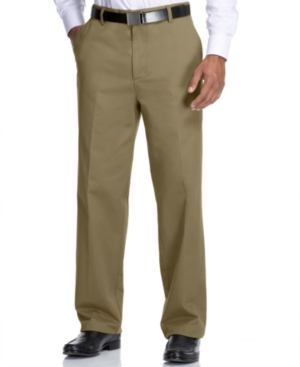 Dockers Big and Tall Pants, D4 Relaxed Fit True Chino Flat Front