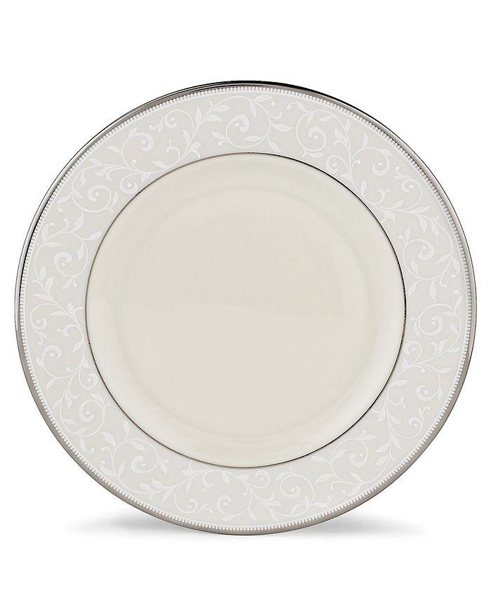 """Lenox - """"Pearl Innocence"""" Salad Plate"""