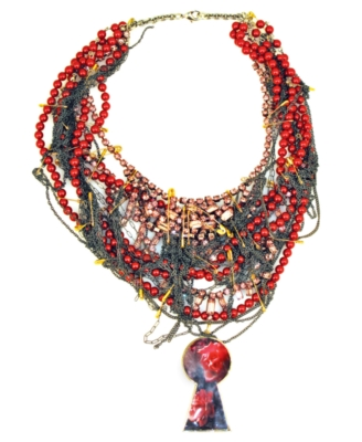 Disney Couture Necklace, Red Queen - Layered Necklaces