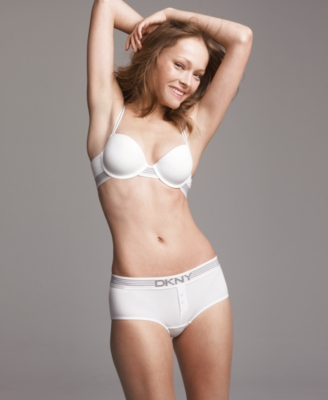 DKNY Bra, Energy Tailored Cotton Demi